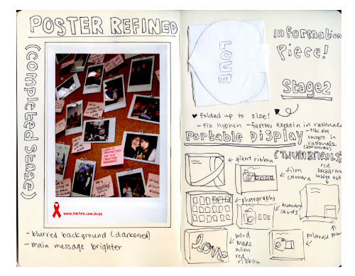 aids poster work