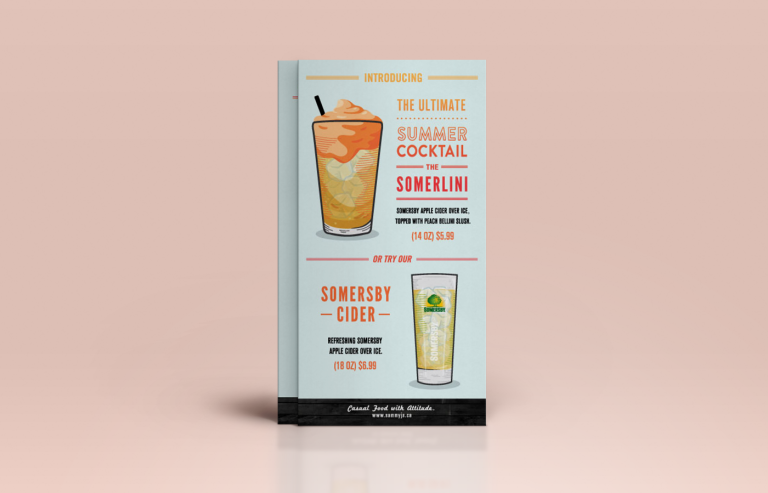 sammy j drink card