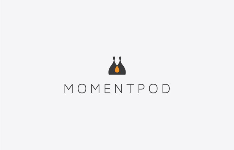 moment pod branding logo selfie stick