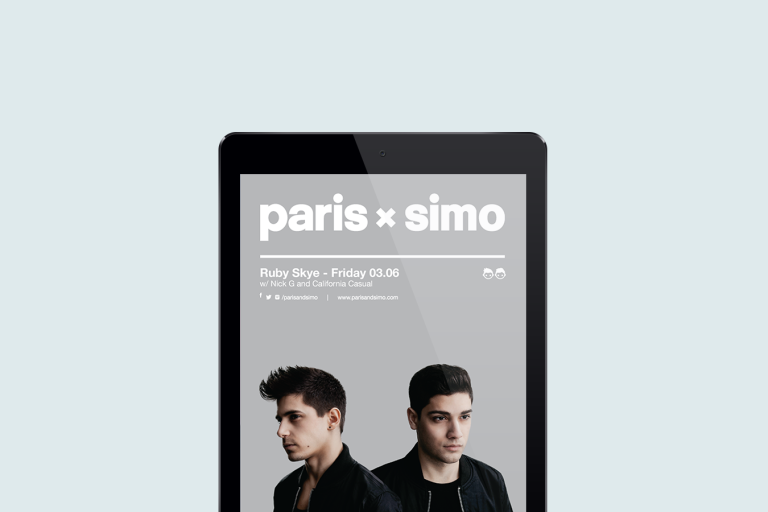 Paris and Simo Flyer