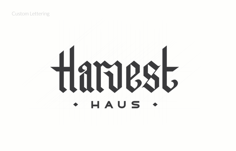 Harvest Haus logo design vancouver