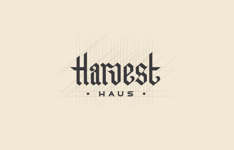 Harvest Haus Logo Design