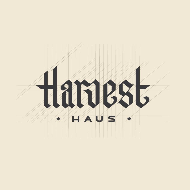 Harvest Haus Logo Design