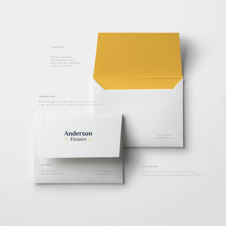 graphic standards manual, gsm, envelope, graphic design, stationery, branding, vancouver